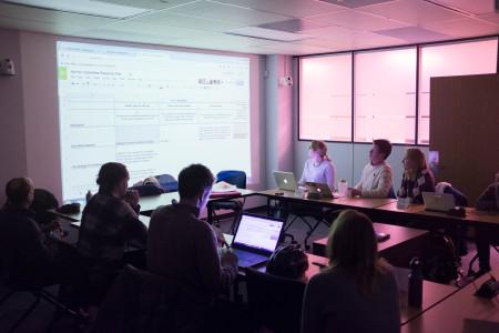 UofT350.org at work 1/2