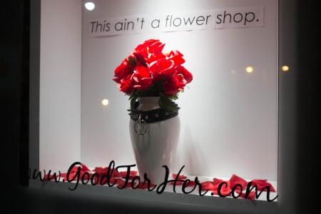 """This ain't a flower shop"""