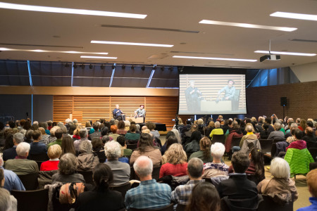 Micah White at the Toronto Reference Library