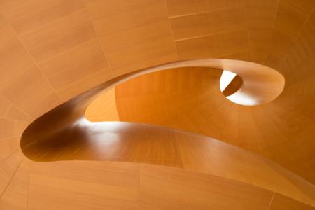 AGO wooden staircase