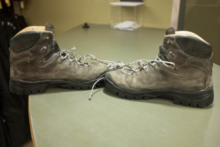 Re-soled Raichle hiking boots 1/2
