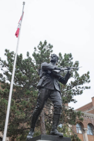 Harbord Collegiate Institute statue