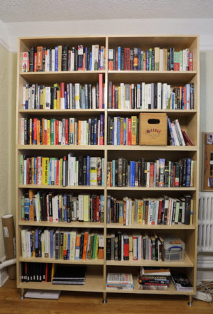 INOVA custom bookcase