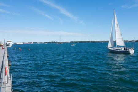 Sails and kayaks